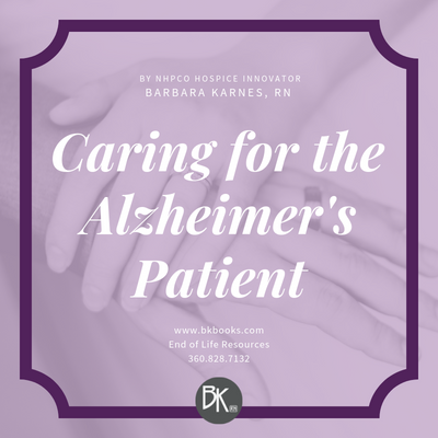 Caring for the Alzheimer's Patient