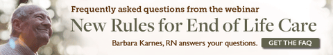 Kinnser Webinar featuring Barbara Karnes, RN New Rules for End of Life Care