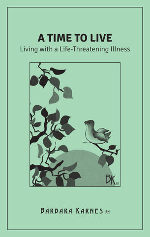"""A Time To Live"" is literature for the newly diagnosed with a poor prognosis and/or the palliative care patient; for anyone faced with the unpredictability of their future due to living with a life threatening illness. It offers guidance for living and explains comfort control, nutrition, sleep, pain medications, overdosing and addiction possibilities as they relate to a serious illnesses as well as the fear of death that we all bring to this final experience."
