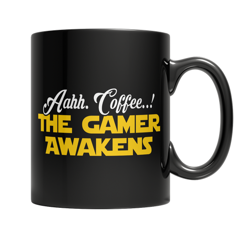 Limited Edition - Aahh Coffee..! The Gamer Awakens