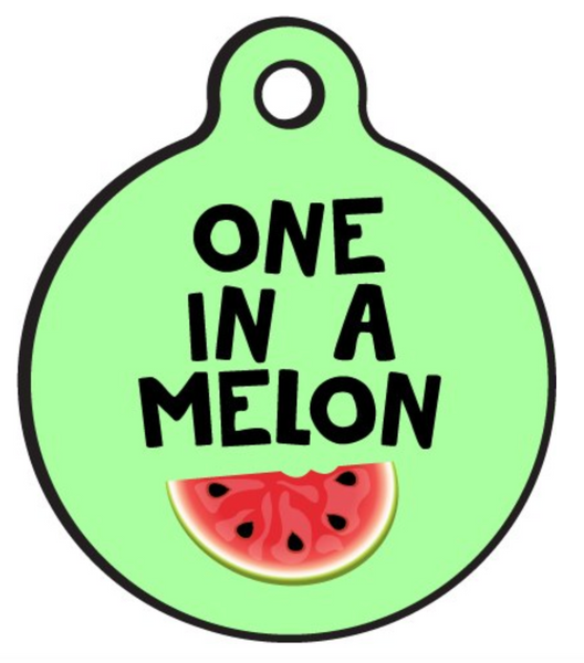 One in a Melon - The Snoring Dog Gourmet Dog Bakery and Dog Cakes