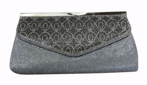 HP2052   -   Evening Purse - Silver