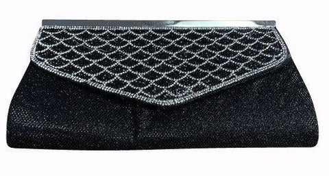 HP2054   -   Evening Purse - Black