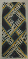 "SSC5066   -   Scarf  70"" Long - Grey/Yellow"