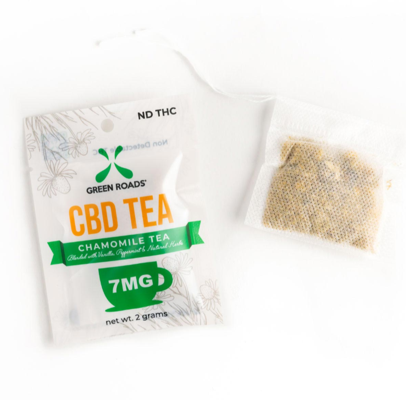 Green Roads 2 gram CBD Tea (7mg)