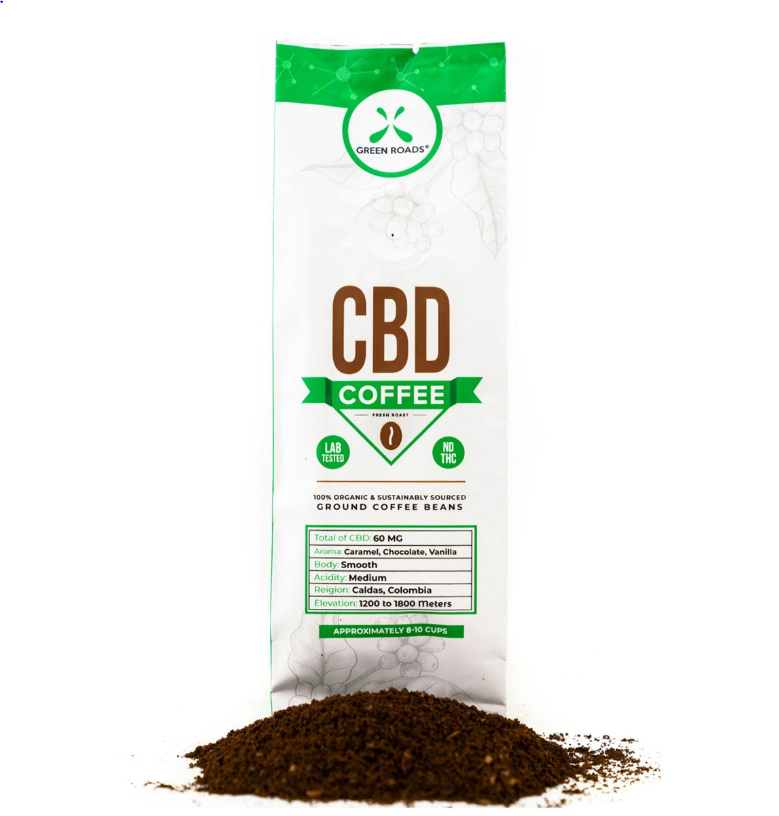 Green Roads CBD Coffee – 2 oz (60mg)