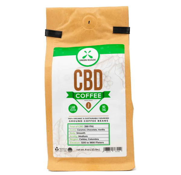 Green Roads CBD Coffee – 8 oz (250mg)