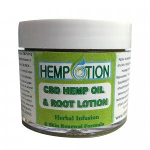 Hempotion CBD Hemp Oil and Root Lotion