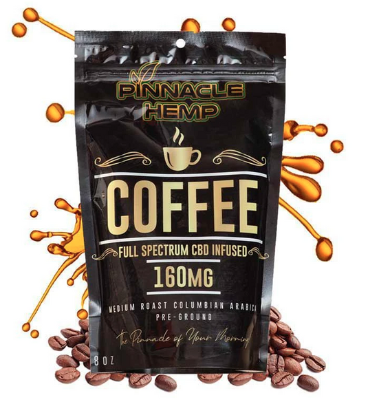 Pinnacle Hemp CBD Coffee