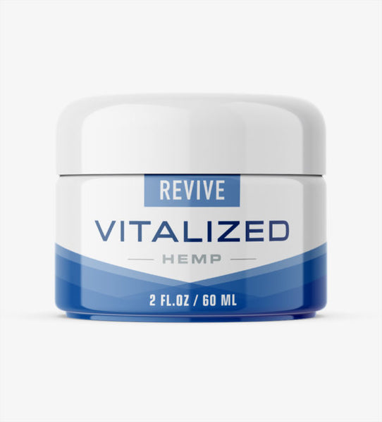 Vitalized Hemp Oil Revive Muscle Joint Cream