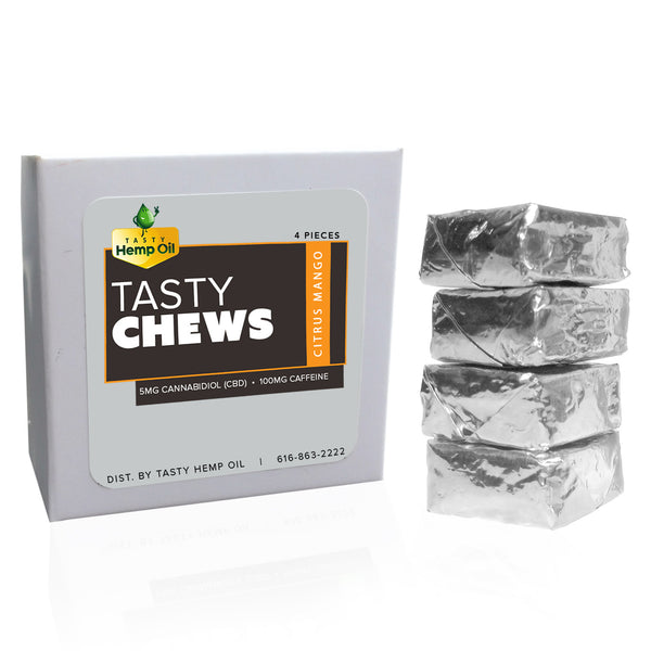 Tasty Hemp Oil CBD Energy Chews (8 Pack)