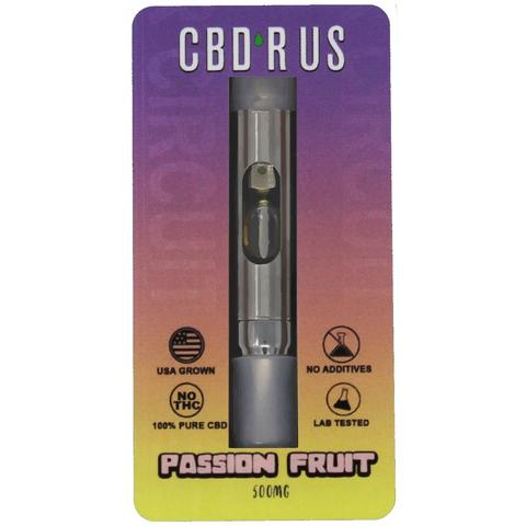 CBD Vape Oil Cartridge - Passion Fruit (500mg)