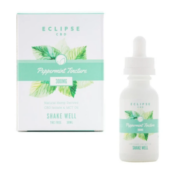 Eclipse CBD Isolate Tinctures with MCT Oil