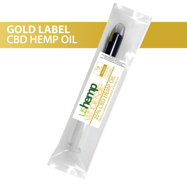Pure CBD Oil - Gold Label 25%