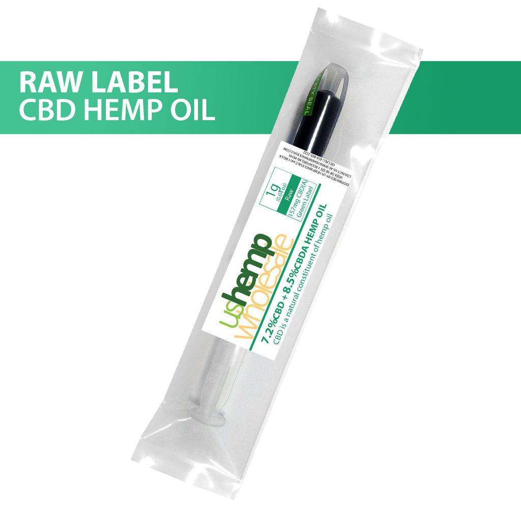 Pure CBD/CBDa Oil - Green Label 15%