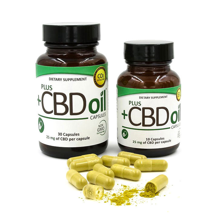 Plus CBD Oil - Hemp Oil Capsules