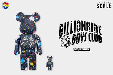 The Latest Medicom Toy x Billionaire Boys Club (BBC) Starfield Be@rbrick Set - Release Info + Images!