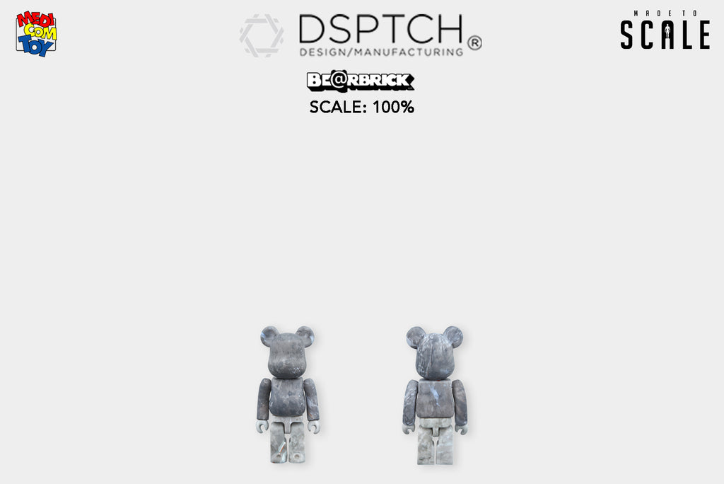 Medicom Toy Teams up with Accessory Brand DSPTCH for their Latest Be@rbrick Collaboration