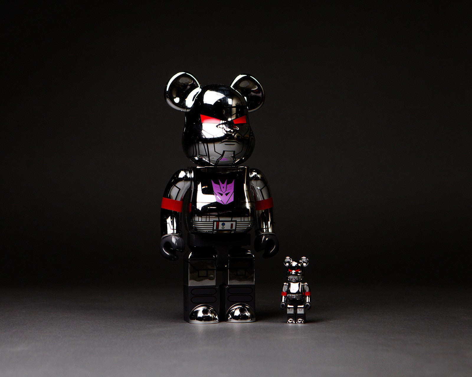 SDCC 2017 Be@rbrick Exclusive: Medicom Toy x Bait - Transformers G1 Megatron Bearbrick