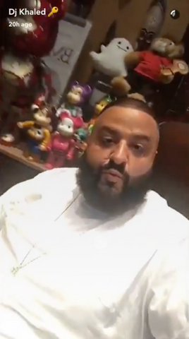 Check out DJ Khaled's Rare Be@rbrick Collection!