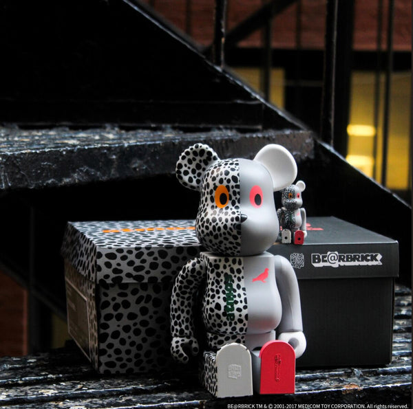 Staple x Atmos x Medicom Toy Bearbrick - Promo Images & Video