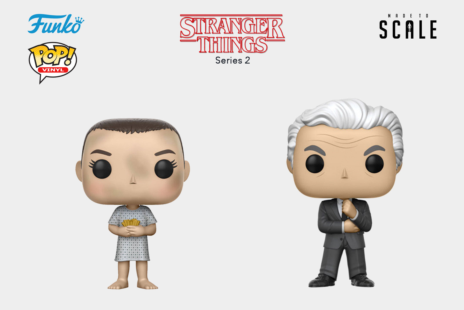 Funko Pop Vinyl Television: Netflix's Stranger Things Series 2 - Release Date: August 2017