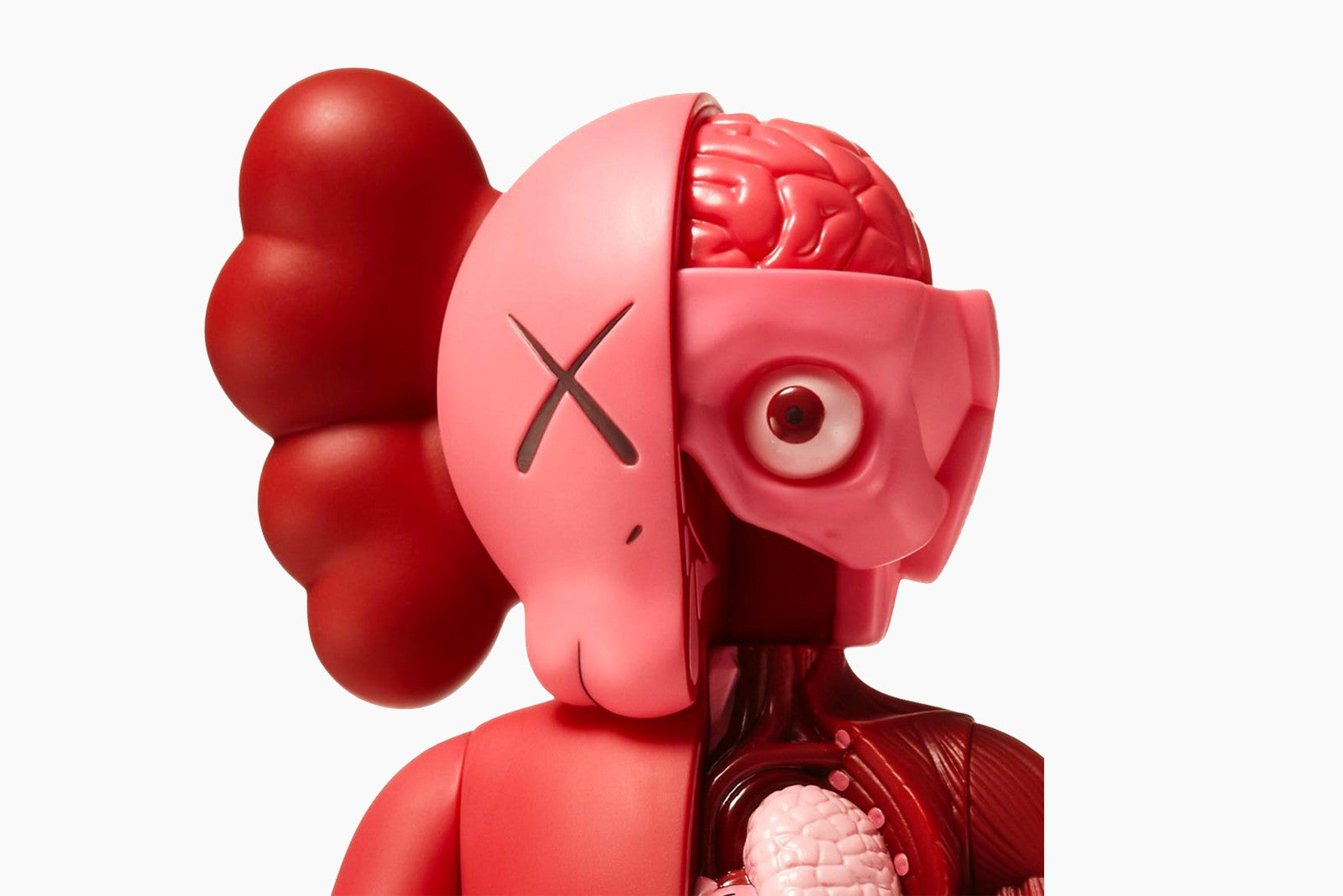 Medicom Toy - Kaws Companion Blush Regular + Flayed Version Vinyl Figures - Release Date: 6.2.17 (12 PM EST)