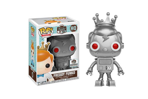 Funko Grand Opening Exclusives - Silver Robot Freddy Funko Pop