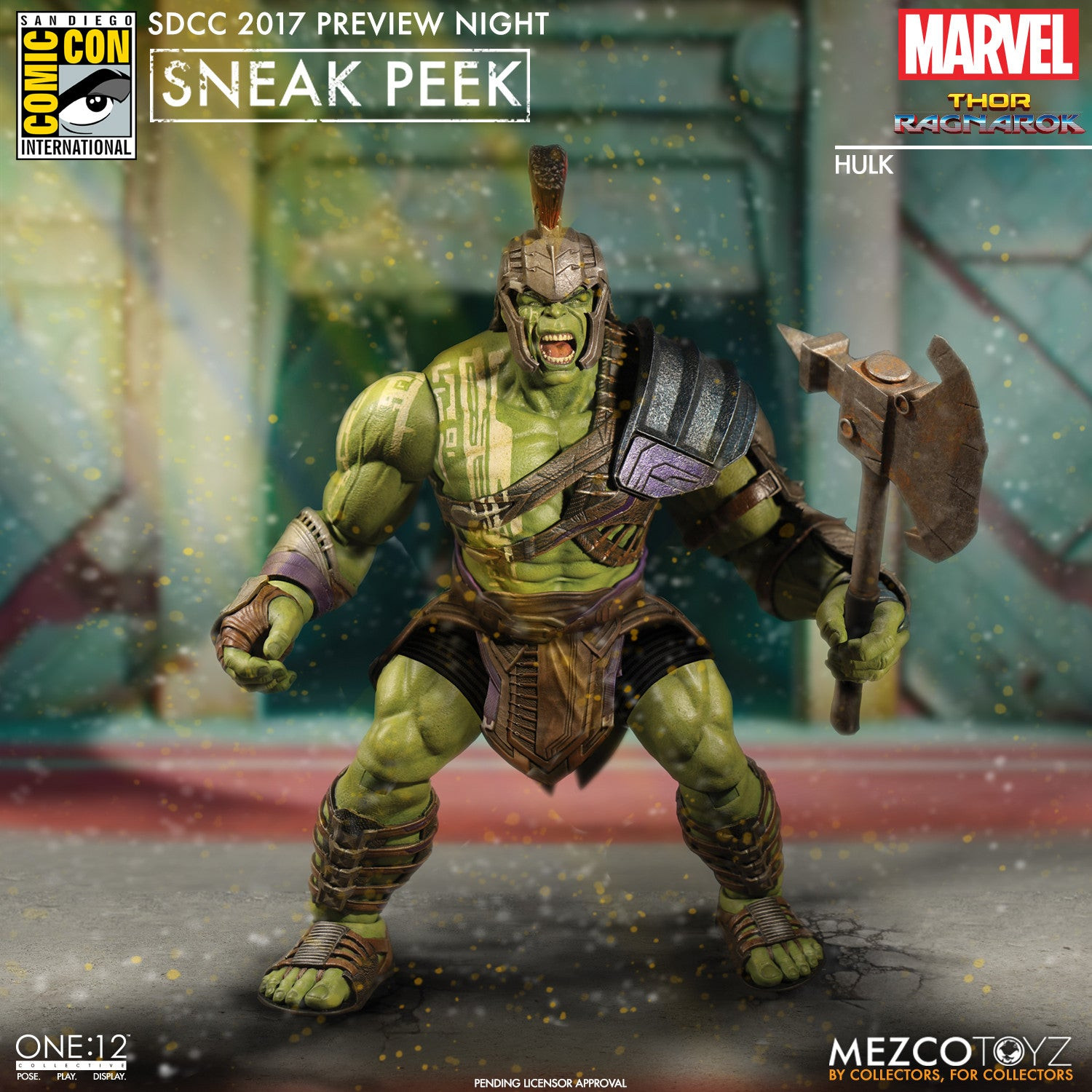 SDCC 2017 Preview Night: Mezco Toyz One:12 Collective - Catwoman, Batman Beyond, Thor Ragnarok, and Hulk!