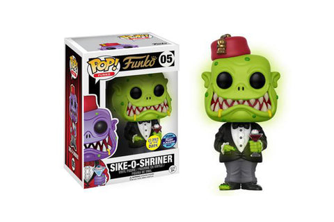 Funko Grand Opening Exclusives - Glow-in-the-Dark Green Sike-O-Shriner Pop