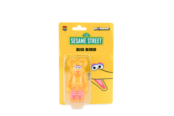 Medicom Toy 100% Bearbrick - Sesame Street Big Bird Be@rbrick