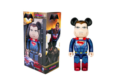 Medicom Toys 400% Be@rbrick - Batman Vs Superman: Dawn of Justice Superman Bearbrick