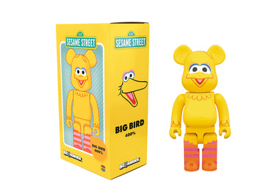 Medicom Toy 400% Bearbrick - Sesame Street Big Bird Be@rbrick