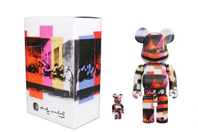 Medicom Toy 100% + 400% Bearbrick Set Andy Warhol The Last Supper Be@rbrick