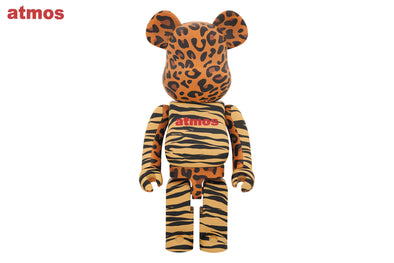 Medicom Toy 1000% Bearbrick - Atmos Animal Be@rbrick Figure