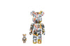 Medicom Toys 100% + 400% Set Be@rbrick - Jean-Michel Basquiat Bearbrick Figure