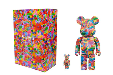 Medicom Toy 100% +400% Bearbrick Set - Dylan's Candy Bar: Sweet Escape Be@rbrick