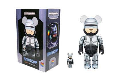 Medicom Toy Be@rbrick 100% + 400% Set - RoboCop (1987) Bearbrick