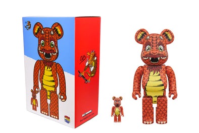 Medicom Toy 100% + 400% Bearbrick Set - Steve Caballero Be@rbrick