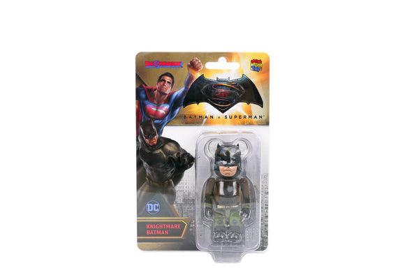 Medicom Toy 100% Bearbrick - Batman Vs Superman: Dawn of Justice Knightmare Batman