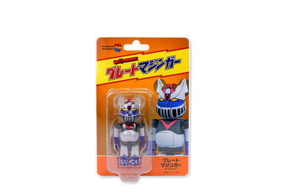 Medicom Toy 100% Kattobi Bearbrick Robot Great Mazinger Be@rbrick Figure