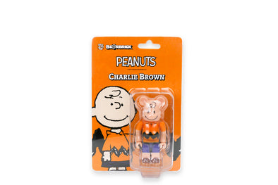 Medicom Toy 100% Be@rbrick - Charlie Brown Peanuts Bearbrick Figure