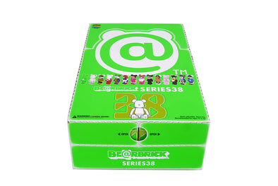 Medicom 100% Bearbrick | Be@rbrick Series 38 Sealed Case (24 Blind Boxes)