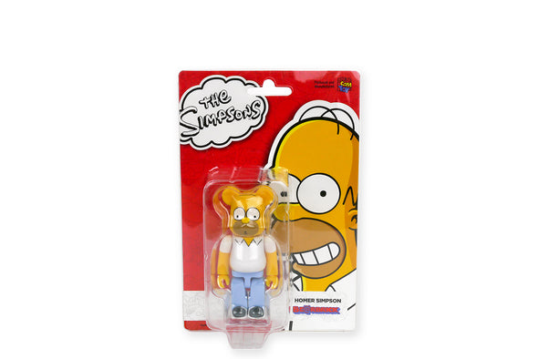 Medicom Toy 100% Bearbrick - The Simpsons: Homer Simpson