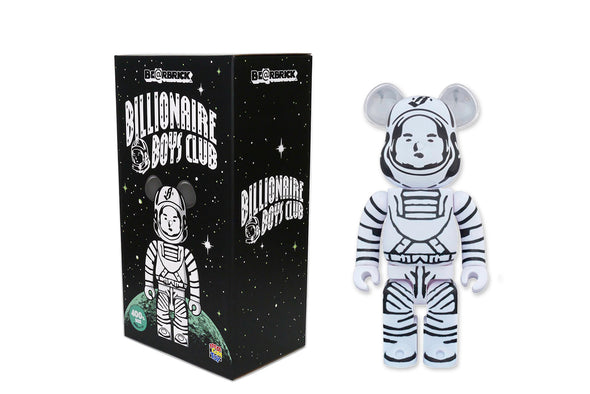 Medicom Toy 400% Bearbrick - Billionaire Boys Club (BBC) Astronaut Be@rbrick