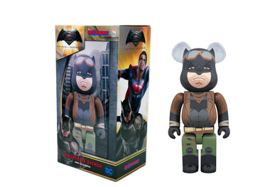 400% Bearbrick - Batman Vs Superman: Dawn of Justice Knightmare Batman