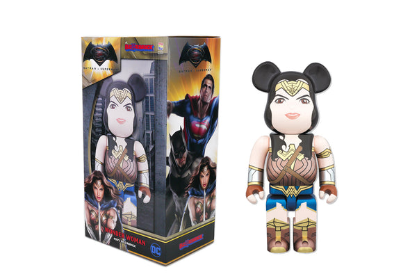 Medicom Toy 400% Bearbrick - BVS: Dawn of Justice Wonder Woman Be@rbrick
