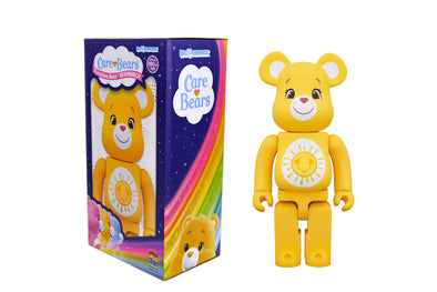 Medicom Toy 400% Bearbrick - Care Bears: Funshine Bear Be@rbrick