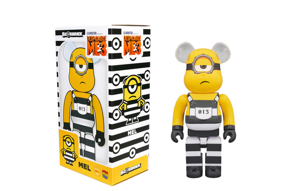 Medicom Toy 400% Bearbrick - Despicable Me 3 Mel The Minion Be@rbrick
