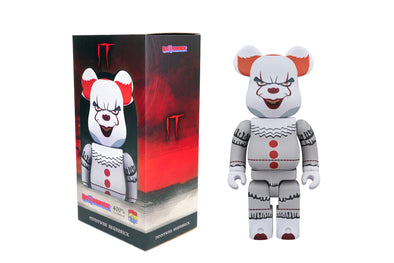 Medicom Toy 400% Bearbrick - IT: Pennywise The Clown Be@rbrick